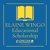 Elaine Wingo Education Scholarship logo