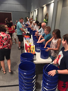 Congregation filling Cleaning Kits