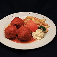 Boulettes de sauce tomate