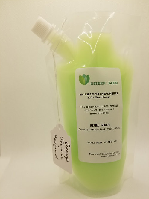 INVISIBLE GLOVE HAND SANITIZER -100% Natural product