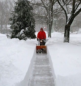 landscape company - residential and commercial snow removal and cleaning