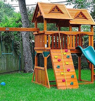 Landscape Playground installation