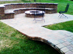 Landscape Patios with any materials