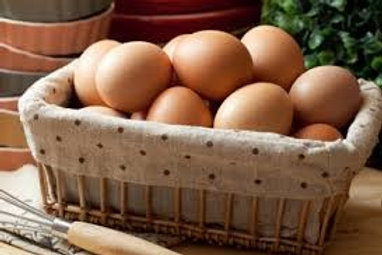 Super Fresh Organic Eggs - collected on the same day of  shipping