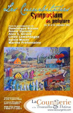 """Affiche promotionelle """"Les curcubitacées"""" 2012"""
