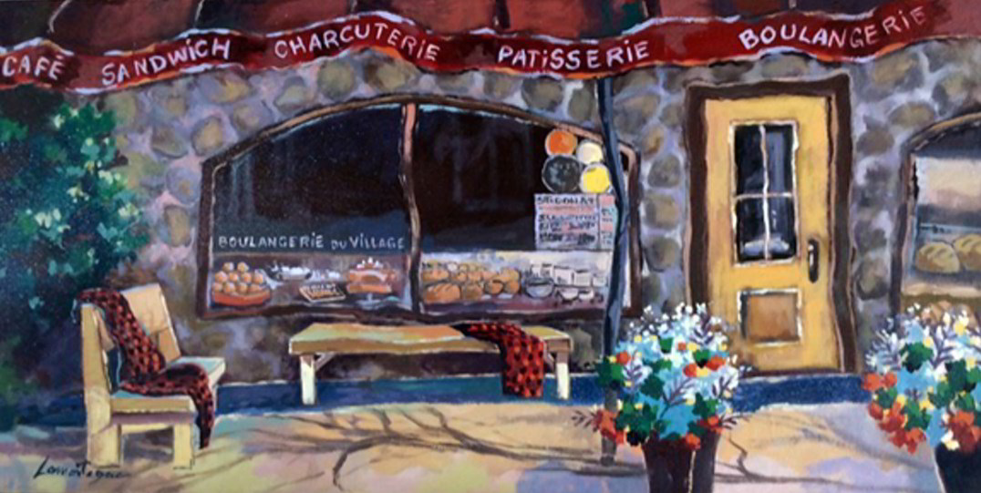 Boulangerie du village (St-Donat-de-Montcalm) - 15x30
