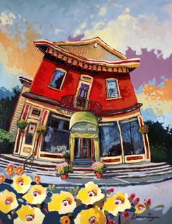 Maison 1890 (Restaurant de Ste-Agathe-des-Monts) - 14x18