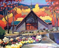 Église St-Donat - 14x18