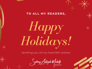 Happy Holidays from Sydney Aaliyah Michelle