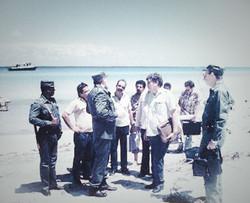 President Fidel Castro in Royal Maya
