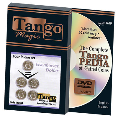 Four in One Eisenhower Dollar  Set (D0146) by Tango