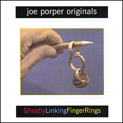 Ghostly Linking Finger Rings by Joe Porper
