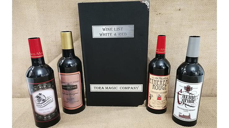 Magic Wine List by Tora Magic