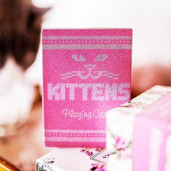 *Madison Kittens Playing Cards