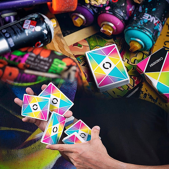 *Cardistry Playing Cards - Colour
