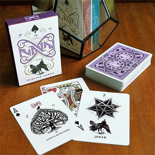 *Ravn Purple Haze Playing Cards