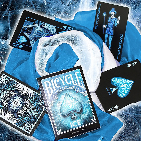 *Bicycle - Ice Playing Cards