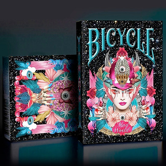 *Bicycle Mad World Playing Cards