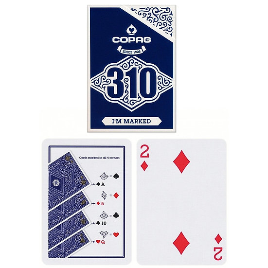 *Copag 310 Playing Cards - Slim Line - I\'m Marked