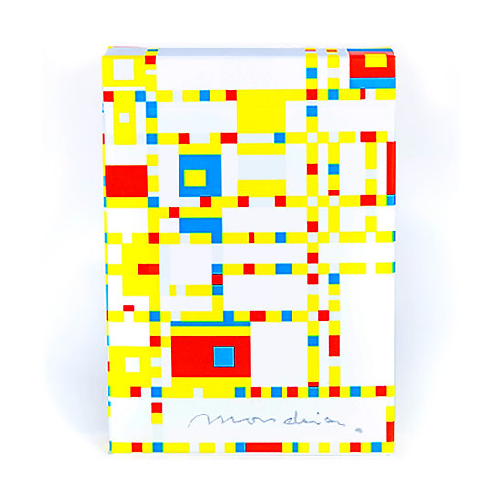 *Mondrian Playing Cards - Broadway