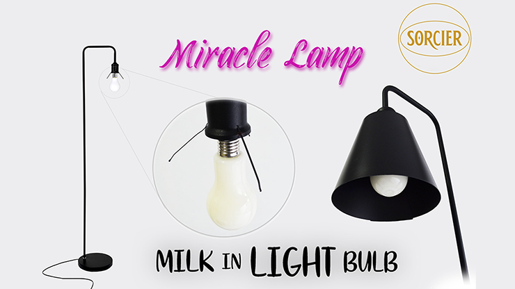 Miracle Lamp Milk in Light Bulb with Remote STAGE by Sorcier Magic