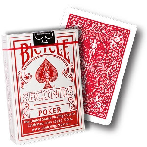 *Bicycle - Poker Deck Seconds - Red back