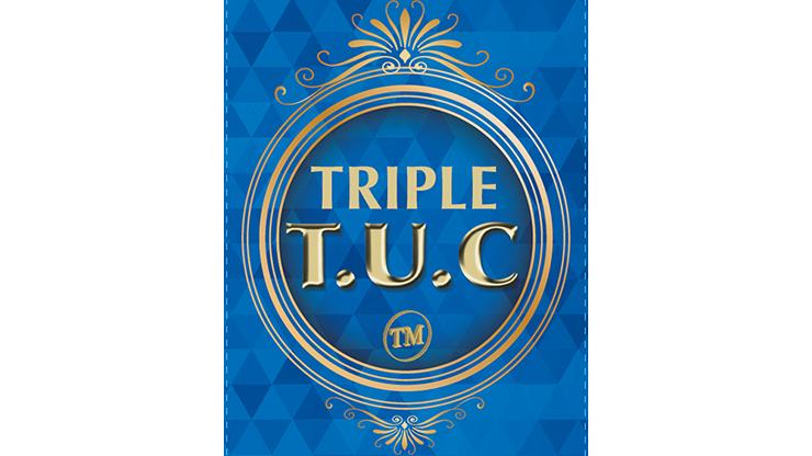 Triple TUC (D0190) Walking Liberty Silver Half Dollar by Tango