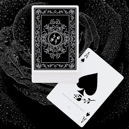 *Black Roses Playing Cards