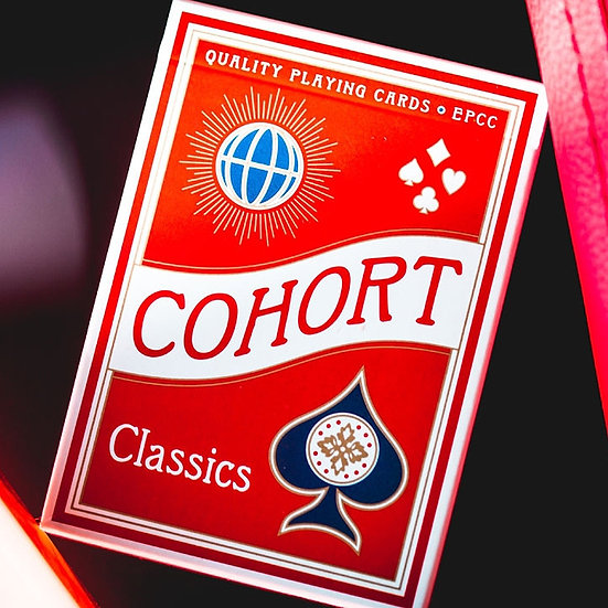 *Cohort Red Playing Cards