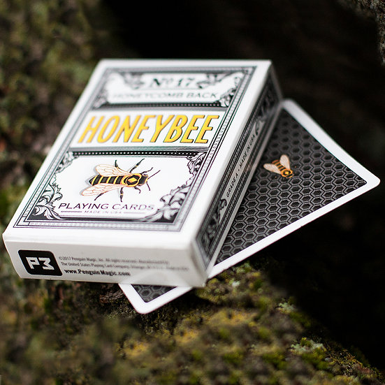 *Honeybee V2 Playing Cards - Black