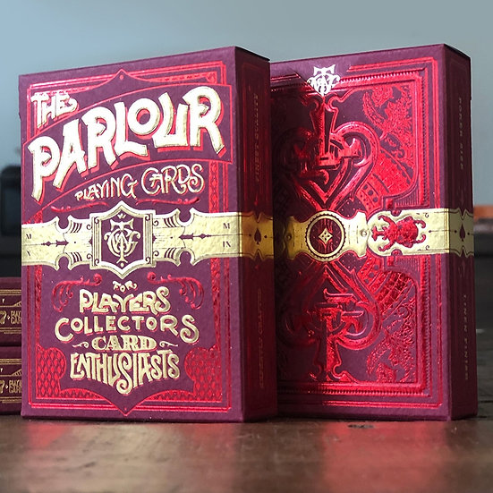 *Parlour Playing Cards - RED