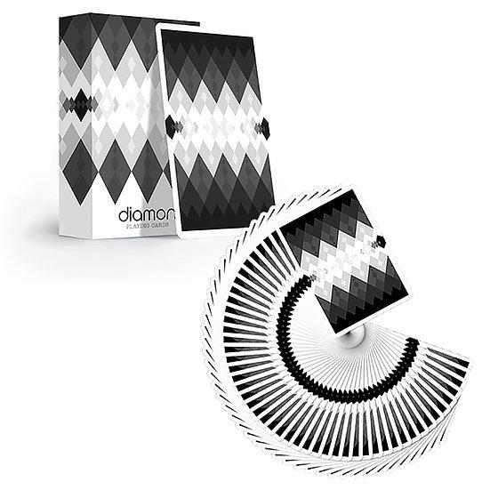 *Diamon Playing Cards N. 10