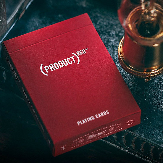 *(Product) Red Playing Cards