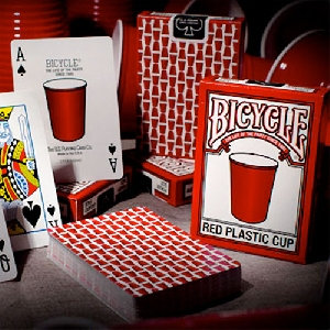 *Bicycle - Red Plastic Cup