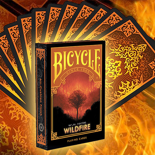 *Bicycle - Natural Disasters - Wildfire
