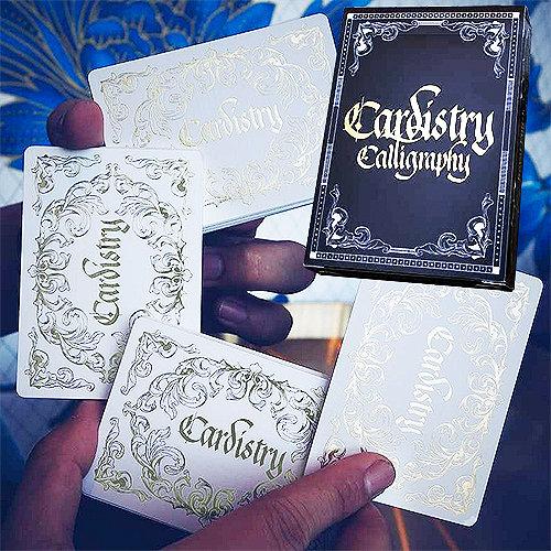 *Cardistry Calligraphy - Golden