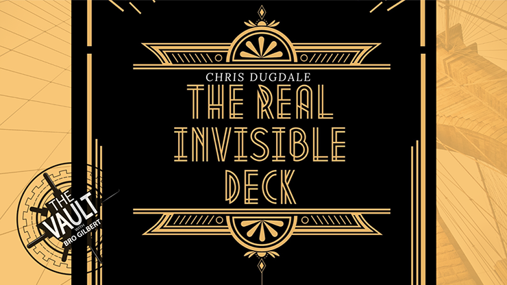 The Vault - The Real Invisible Deck-Chris Dugdale video