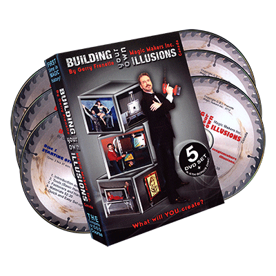 Building Your Own Illusions by Gerry Frenette (6 DVD Set)