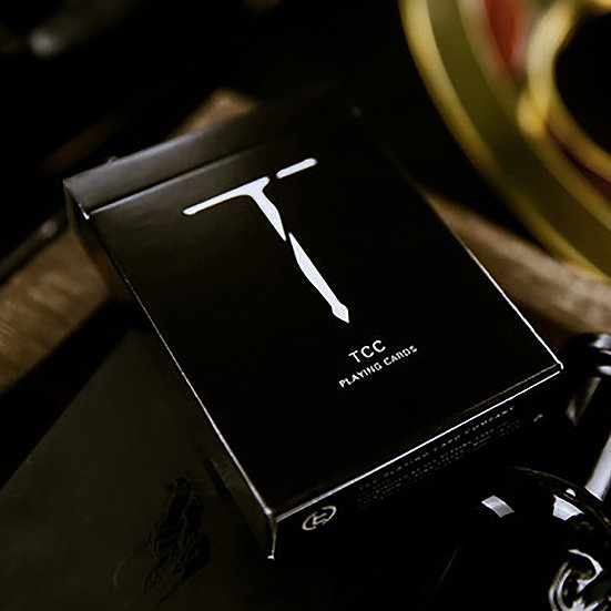 *New T Playing Cards - Black