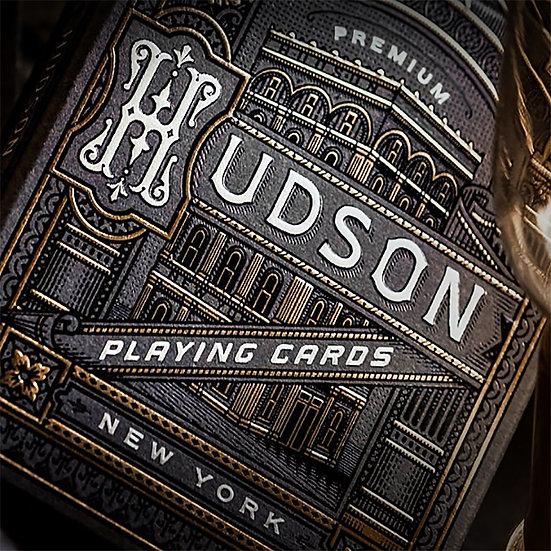 *Hudson Playing Cards Black