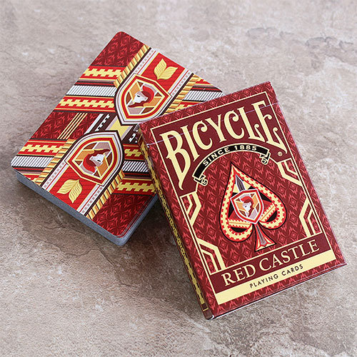 *Bicycle - Red Castle