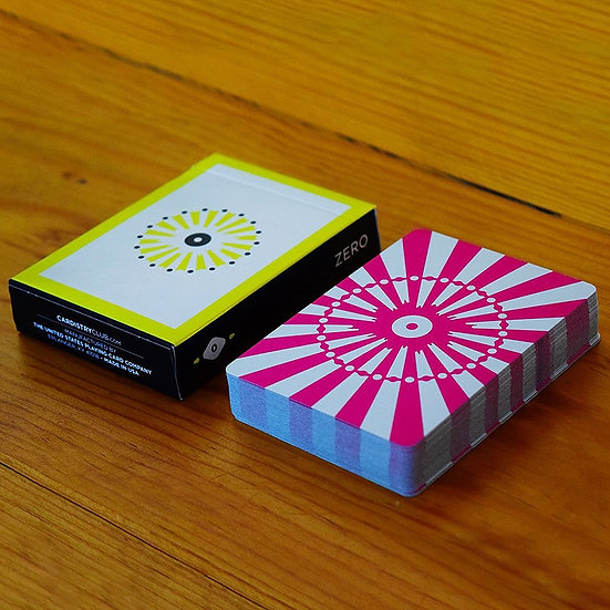 *Cardistry Club Zero Playing Cards