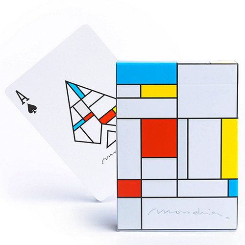 *Mondrian Playing Cards
