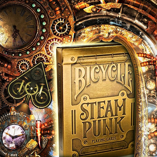*Bicycle - Steampunk - Gold