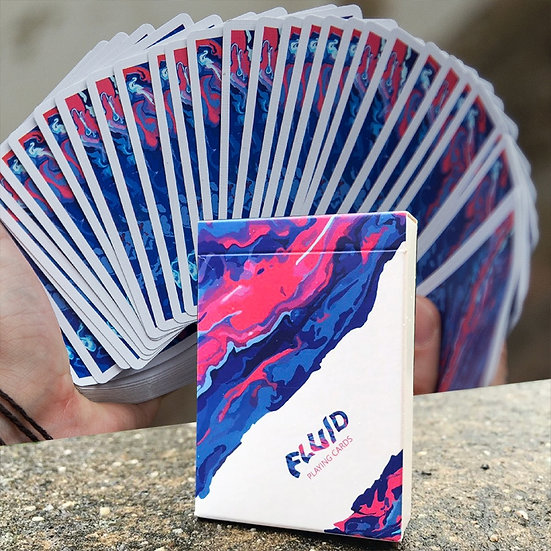 *Fluid Playing Cards