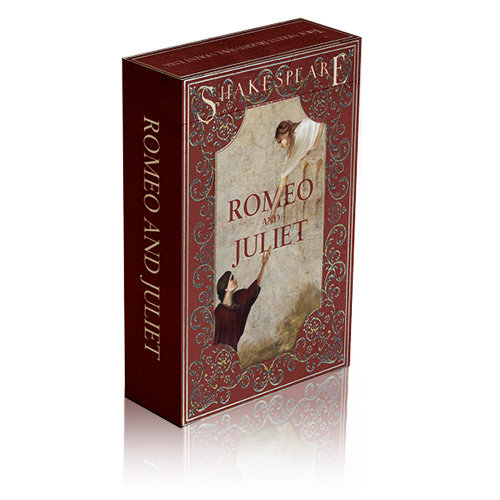 *Bicycle - Romeo and Juliet - Brown case