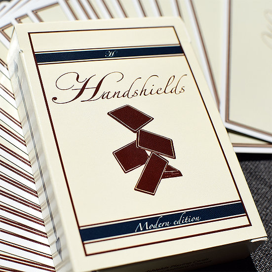 *Handshields Playing Cards Modern Edition