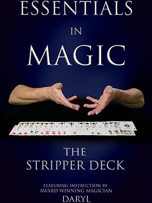 Essentials in Magic - Stripper Deck - Japanese video