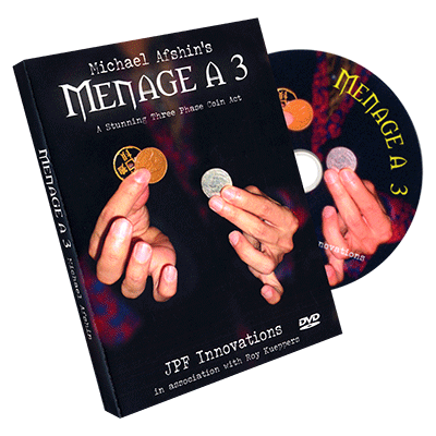 Menage A 3 (DVD & coins) by Michael Afshin & Roy Kueppers