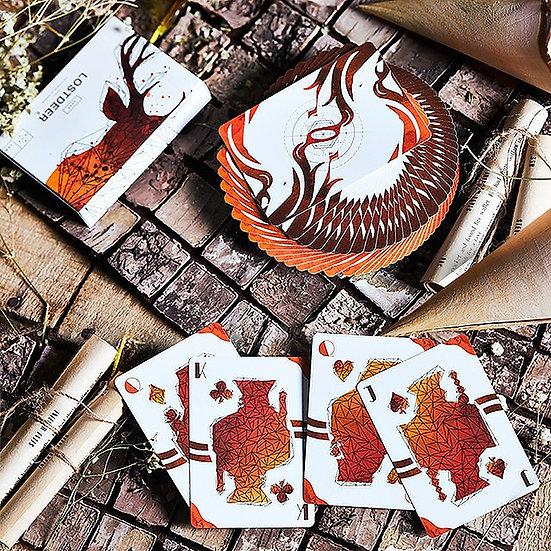 *Lost Deer Jungle Playing Cards - Limited Edition